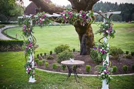wedding arch grapevine the occasion august 2012