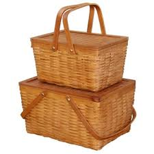 highlander picnic basket set service for 4 free shipping today