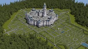 Castle Floor Plans Minecraft Minecraft Formal Gardens Google Search Minecraft Garden