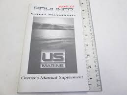 boat anchor manual bayliner 2050ss capri runabout boat owner u0027s manual supplement