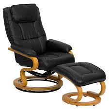corrigan studio medford manual swivel recliner with ottoman