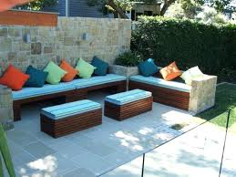 Long Bench Cushions Outdoor Garden Bench Plans Outdoor Furniture And Projects