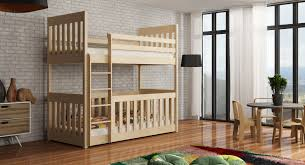 Cot Bunk Beds Wooden Bunk Bed Cris With Cot Bed Arthauss Furniture