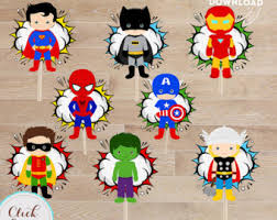 superhero wedding table decorations table centerpiece etsy