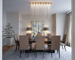 dining room crystal chandelier lighting other dining room