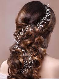 hairstyles with haedband accessories video amazon com unicra wedding headband hair vine and hair