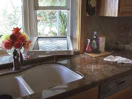 show me you kitchen bay windows above sink