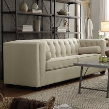 modern chesterfield sofa barrel studio ramses modern chesterfield sofa reviews wayfair