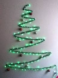 lighted christmas tree garland lighted christmas tree wall hanging string light and garland wall