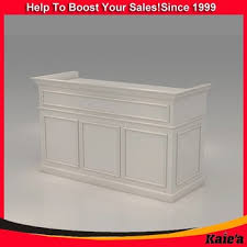 Salon Reception Desk White Modern Salon Reception Desk White Salon Reception Desk Buy