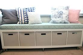 Foot Of Bed Storage Bench Ottoman Storage Bench Ikea