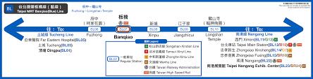 Taipei Mrt Map File Taipei Mrt Banqiao Line Route Map Svg Wikimedia Commons
