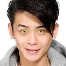 geo crazy halloween contact lenses sf 09 smiley face