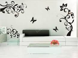 White Flower Wall Decor Living Room Awesome Wall Decor Stickers Images With Pink Sakura