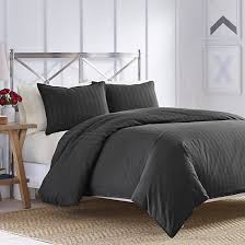 charcoal bedding caldwell duvet set nautica