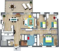 Draw Simple Floor Plans by Simple 3 Bedroom House Floor Plans Bungalow Learn More Draw