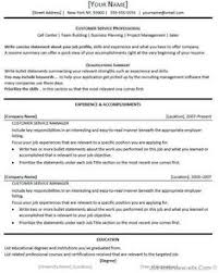 Customer Service Job Resume by A Very Beautiful And Professional Resume Sample Template For All