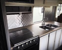 aluminum backsplash kitchen quilted aluminum backsplash 6 steps with pictures
