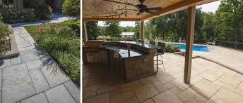 Interlocking Slate Patio Tiles by Slate From Silver Creek Interlock Concrete Products