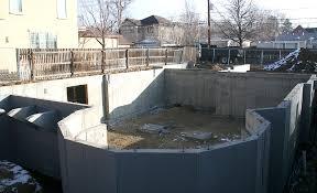 Basement Foundation Repair Methods by Sealing Basement Walls Basement Wall Repair With Sealing Basement