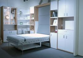 white murphy bed with fold down table u2014 room decors and design