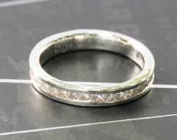 silver diamond rings silver diamond ring etsy