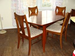 Modern Dining Set Design Vintage Mid Century Modern Dining Set Romantics Circle Lighting