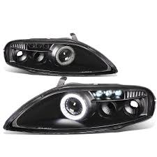 lexus sc300 no spark 92 00 lexus sc300 sc400 z30 pair of projector led halo ring