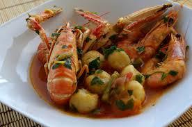 de cuisine antillaise dombrés aux crevettes et langoustines kiyakuisine