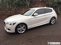 white bmw 1 series sport 2013 sports convertible 116 for sale in united kingdom