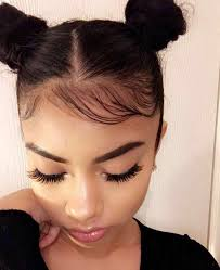 how to make baby hair buns w baby hair hair inspiration hair style