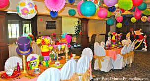 Alice In Wonderland Decoration Ideas Alice In Wonderland Mad Tea Party Birthday Party Ideas Photo 1