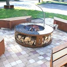 diy outdoor fire pit kits instructions how to build a gas fire pit