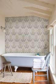 london rose wallpaper china blue wallpaper interiors