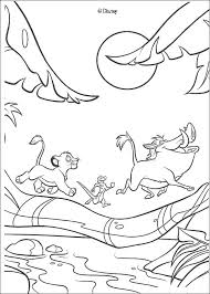 lion king coloring pages game simba timon pumbaa