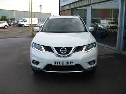 used nissan x trail finance used storm white nissan x trail for sale lincolnshire