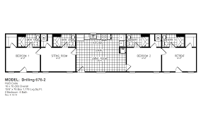 Small Three Bedroom Floor Plans Ruggedized Oil Field Housing Oak Creek Homes Burleson