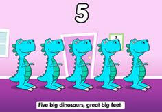 number bonds to 10 on hatching dinosaurs for display sb2506