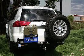 mitsubishi indonesia kaymar 4x4 rear bars and accessories
