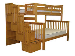black ikayaa twin over full metal bunk bed frame lovdock image on