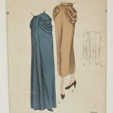 Draped Skirt Tutorial Draped Skirt Vintage Patterns Patterns Kid
