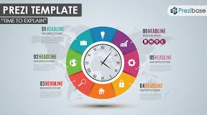 time to explain prezi template prezibase