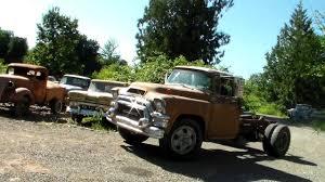 gmc semi truck 1955 gmc 370 series truck ctr 36 youtube