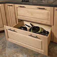 Kitchen Storage Cabinets  Organizers - Kitchen cabinets drawer