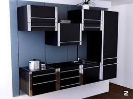 Interior Design Modern Kitchen Uzumaki Interior Design Modern Kitchen Furniture In Black Color