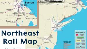 Amtrak Rail Map Northeast Us Rail Map By Alfred U2014 Kickstarter