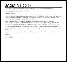 transportation driver cover letter