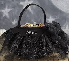 tulle bags black tulle treat bag pottery barn kids
