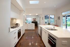 galley style kitchen with island kitchen galley style kitchen boasts miele liances and glass