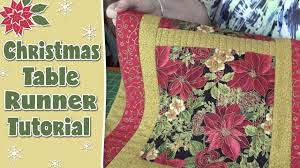 halloween table runner quilt pattern christmas table runner quilting tutorial youtube